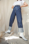 108B Roll Up Denim