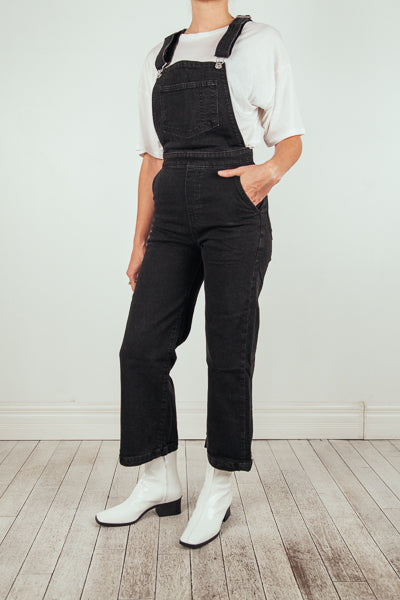 Ribcage Wide Leg Crop Overall