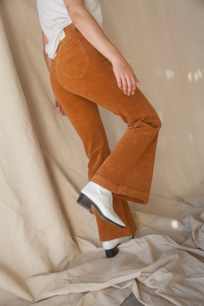 Eastcoast Flare Pant - Tan Cord