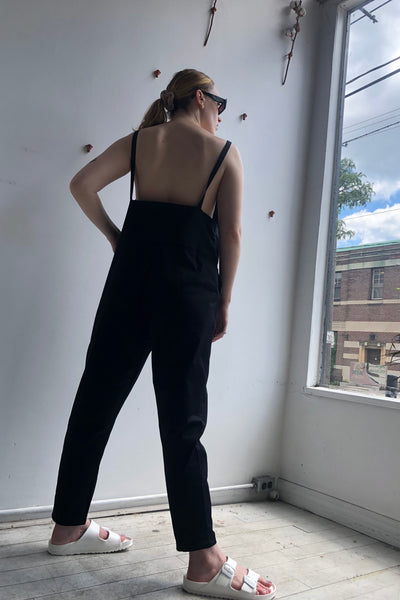 Long Strap Canvas Overalls