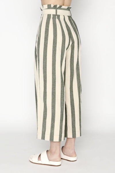 Pleated Trouser Stripe