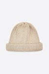 Roll Up Beanie - Ivory