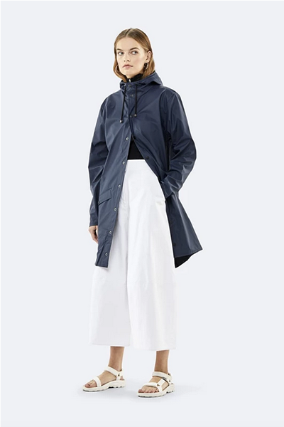Long Jacket - Blue