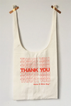 Stacked Thank You  Fabric Gratitude Grocery Bag