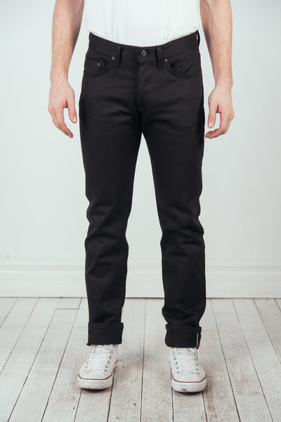 Weird Guy Selvedge - Solid Black