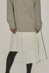 Wrap Pleats Skirt