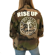 French Camo Rise Up Jacket