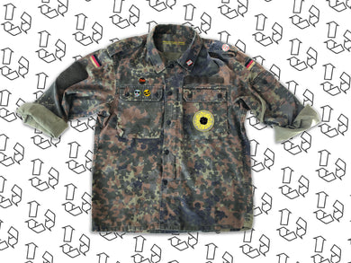 German Camo Jacket - Choose your back print! Order by 1/12/19 for pre-Christmas delivery
