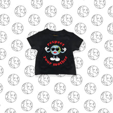 'MOTHER EARTH' Baby T (Black)