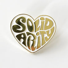 'SOLID HEART' Enamel Pin Badge