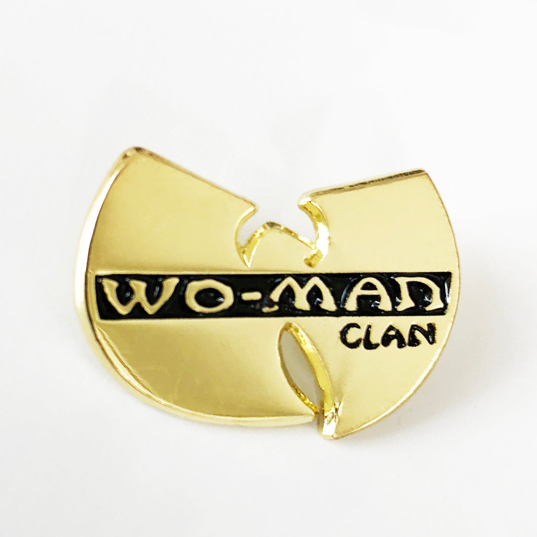'WOMAN CLAN' Enamel Pin Badge