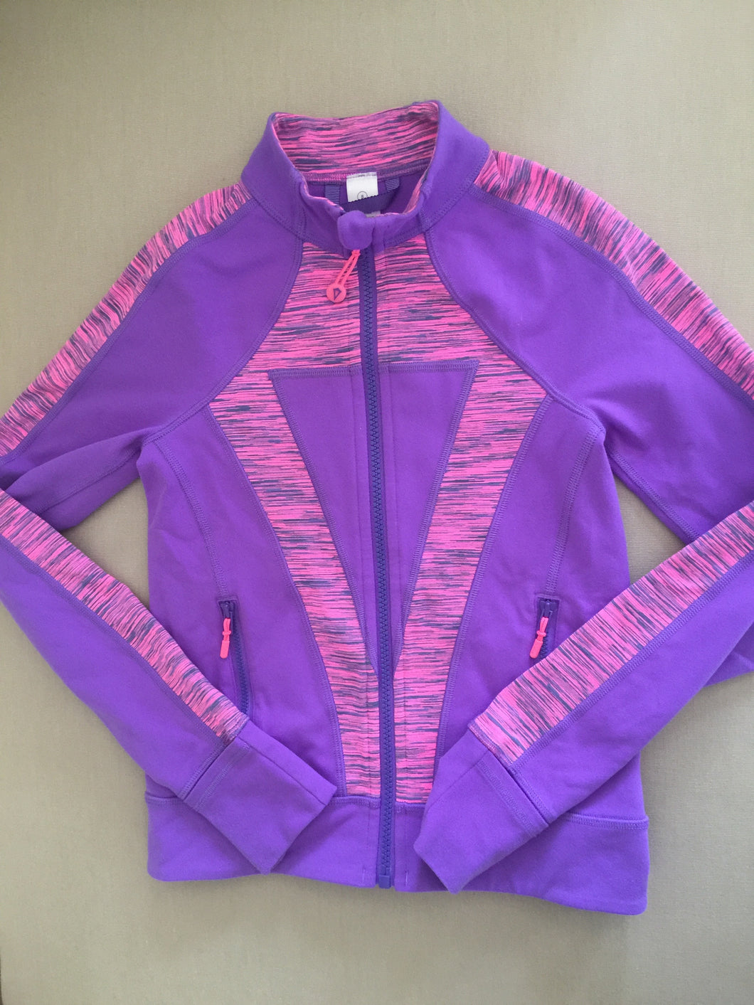 Purple and Pink Ivivva Jacket Size 8