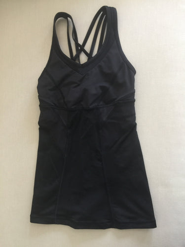 Beautiful Black Lululemon Top Ladies Size 2