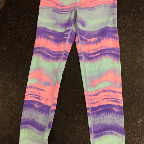 Ivivva Pink, Purple, Light Blue Multi Pants Size 10