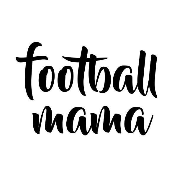 'Football Mama' T-Shirt for Football Moms