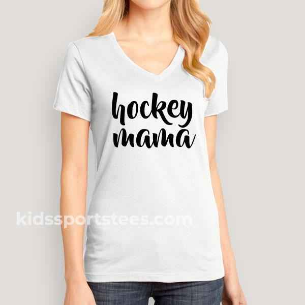 'Hockey Mama' T-Shirt for Hockey Moms