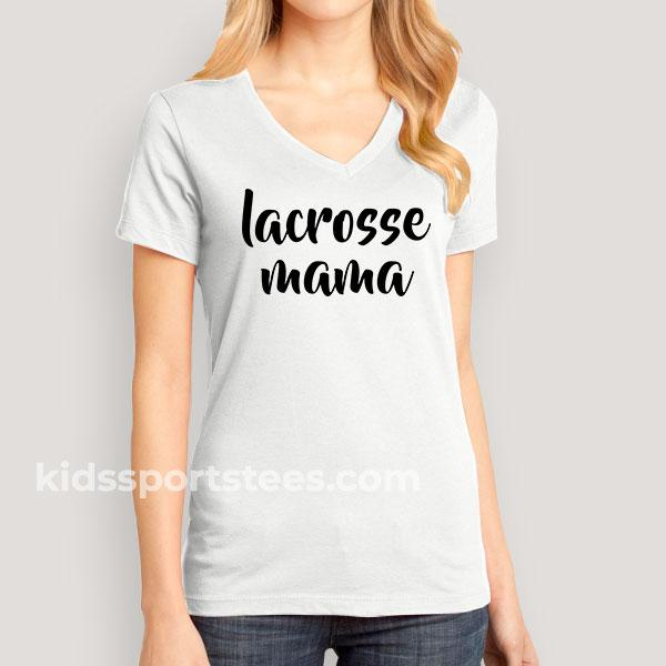 'Lacrosse Mama' T-Shirt for Lacrosse Moms