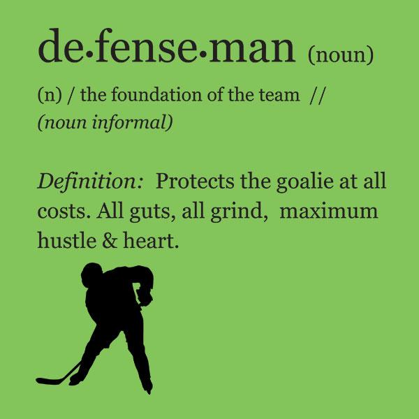 Hockey Defenseman Definition T-Shirt