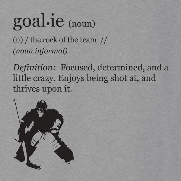 Funny Hockey Goalie Definition T-Shirt