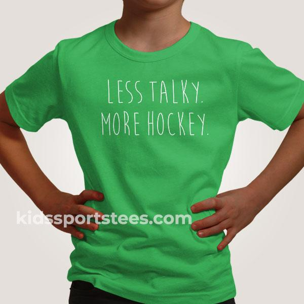 More Hockey Funny Hockey T-Shirt