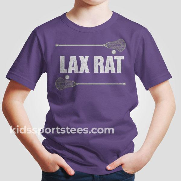 Lax Rat Lacrosse T-Shirt