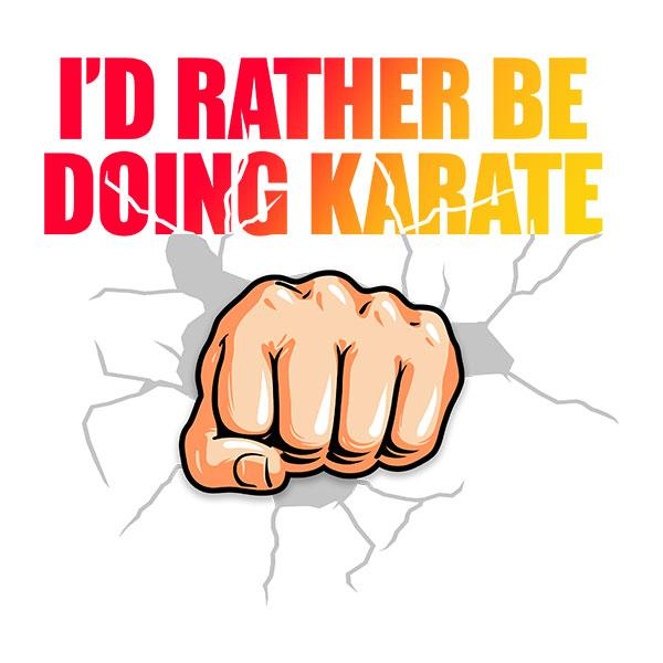 I'd Rather Be Doing Karate T-Shirt