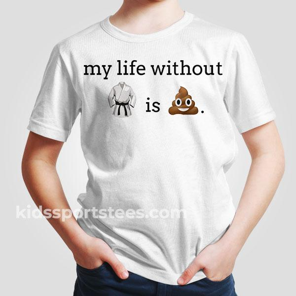 Martial Arts Emoji T-Shirt
