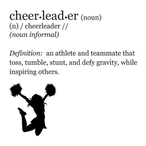 Cheerleader Definition T-Shirt