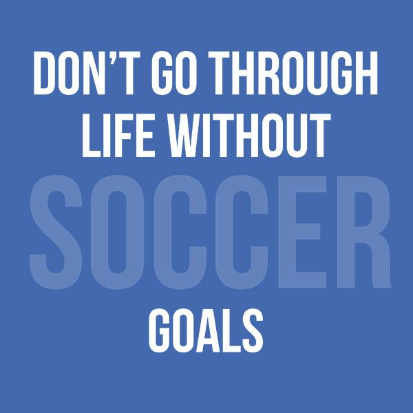 Don't Go through Life Without Soccer Goals T-Shirt