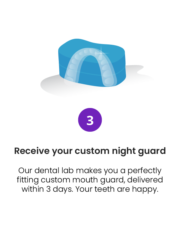 Chomper Labs Receiving Custom Night Guard Step 3