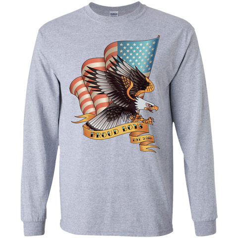 PB Eagle: LS Ultra Cotton T-Shirt