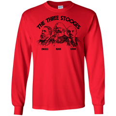 The Three Stooges: LS Ultra Cotton T-Shirt