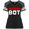 RUSSIAN BOT: Ladies' Game V-Neck T-Shirt