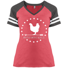 BWH : Ladies' Game V-Neck T-Shirt
