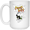 BAD BOY: 15 oz. White Mug