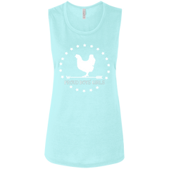 BWH: Ladies' Flowy Muscle Tank
