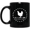 BWH: 11 oz. Black Mug