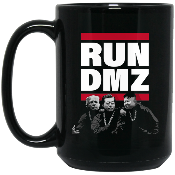 RUN DMZ: 15 oz. Black Mug