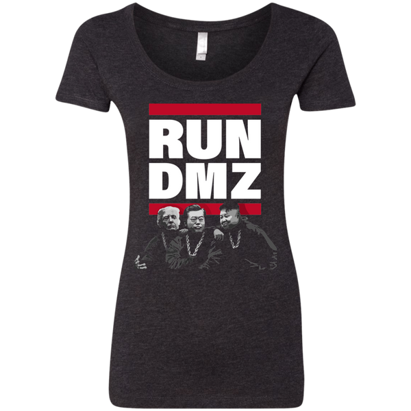 RUN DMZ:  Ladies' Triblend Scoop