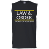 LAW & ORDER: VSU: Men's Ultra Cotton Sleeveless T-Shirt