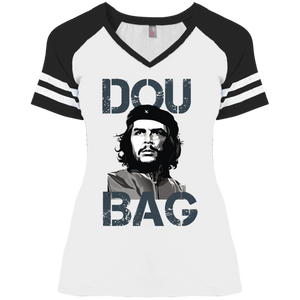 DouCHEbag: Ladies' Game V-Neck T-Shirt