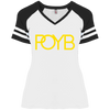 POYB(GOLD) : Ladies' Game V-Neck T-Shirt