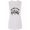 The Three Stooges: Ladies' Flowy Muscle Tank
