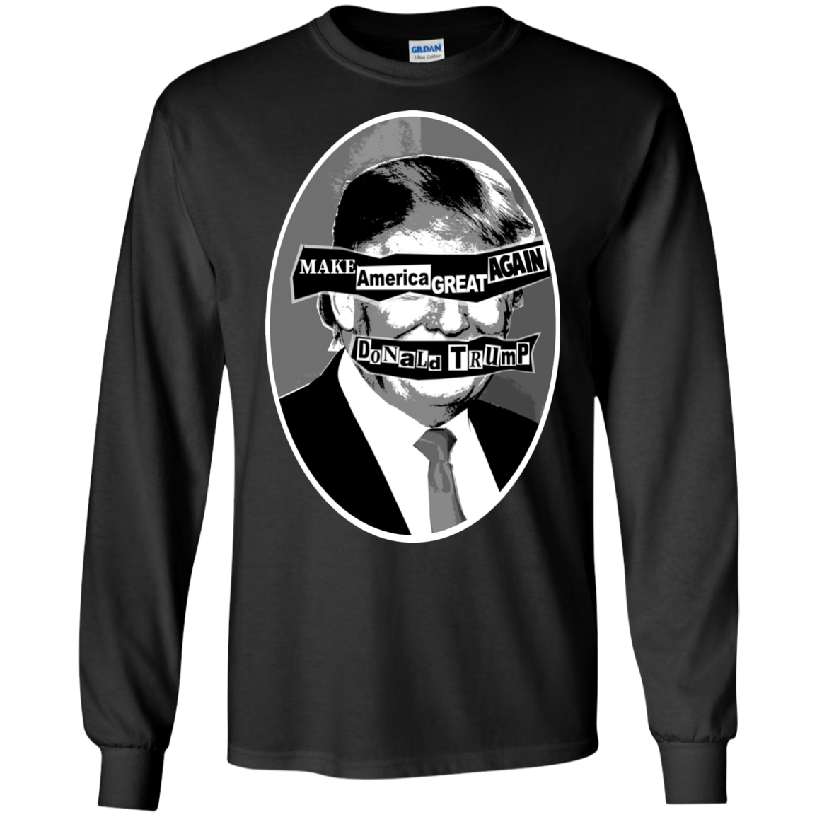 GOD SAVE THE PREZ: LS Ultra Cotton T-Shirt