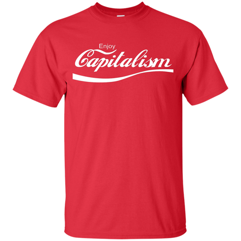 Enjoy Capitalism: Youth Ultra Cotton T-Shirt