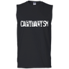CAPITALISM :Men's Ultra Cotton Sleeveless T-Shirt
