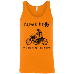GO WEST(BLACK): MEN Tank