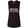 POYB PB: Ladies' Flowy Muscle Tank