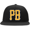 PB: Flat Bill High-Profile Snapback Hat