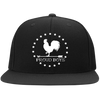 BWC: Flat Bill High-Profile Snapback Hat